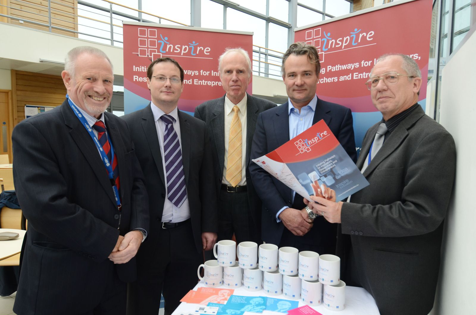 INSPIRE Launch at the Bridge Innovation Centre