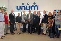 UNUM Vice Presidents visit IT Carlow