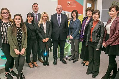 Minister-Charlie-Flanagan-With-ITC-Law-Soc-Students