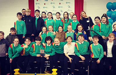 Institute of Technology Carlow VEX Robots Competition for Primary Schools