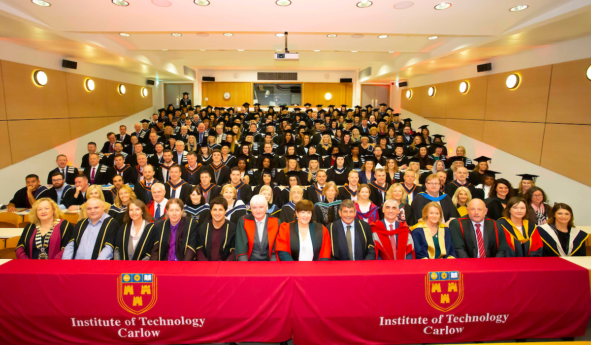 Institute of Technology Carlow Celebrates the Accomplishments of Over 200 Graduates from Wicklow County Campus