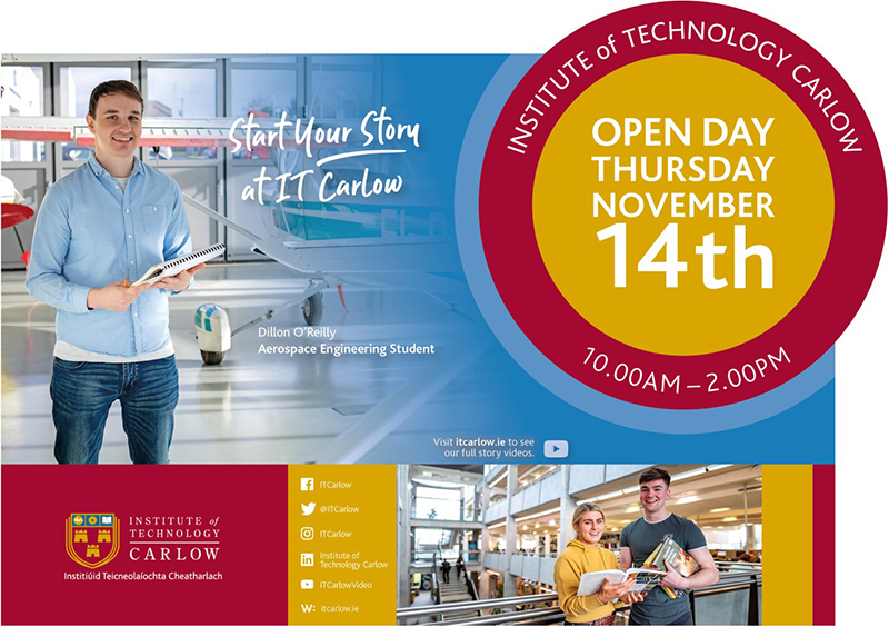 it carlow open day November 14th 2019