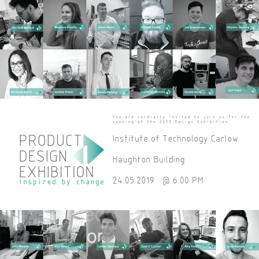 institute of technology carlow product design exhibition