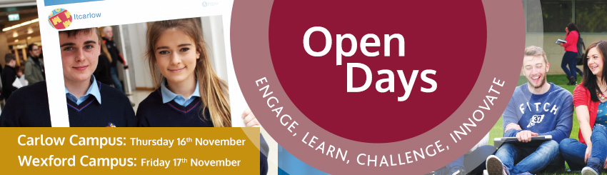 Wexford Campus Open Day Booking Form
