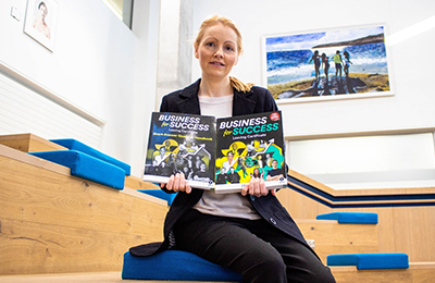 IT Carlow Tutor Publishes Business Textbook for Leaving Cert Students