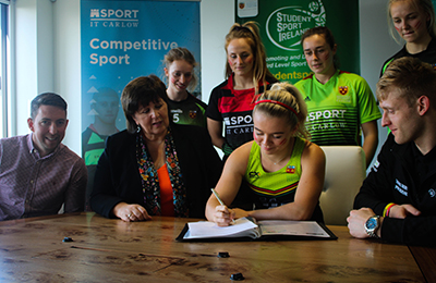 Institute of Technology Carlow Proudly Participates in Student Sport Ireland 20x20 Campaign