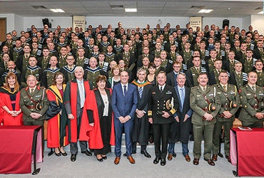 Irish Defence Forces Graduation at IT Carlow