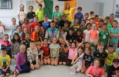 Marcus and Molly Surprise Guests at Fun-Filled IT Carlow Summer Activity Camp