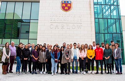 First Intake of BSc. Digital Marketing with Analytics Students Come Together for  'Family Photo'
