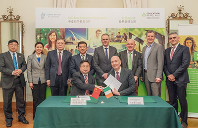 Minister For Education and Skills Attends Landmark Event to Deepen IT Carlow Links in China