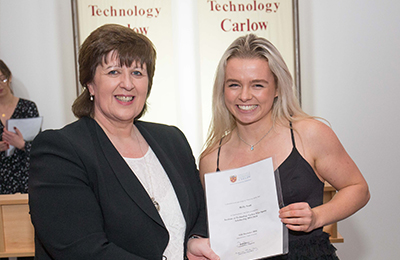 molly scott named sports person of the year institute of technology carlow