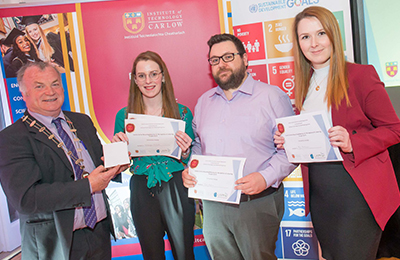 Carlow County Council Host Awards Night for Institute of Technology Carlow Marketing Students