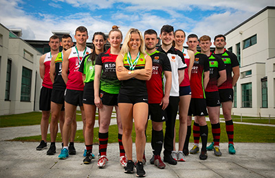 SOARING TO NEW SPORTING SUCCESS -  IT Carlow Ranks 2nd Among All Universities and IoTs by Student Sport Ireland