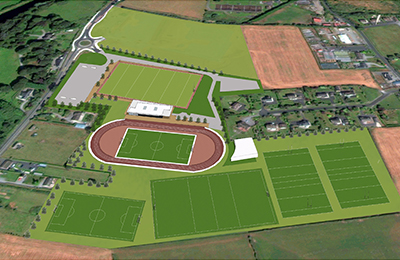 institute of technology carlow south sports campus render