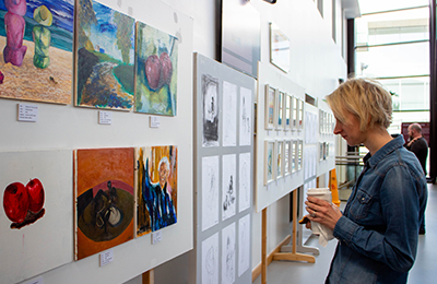 IT Carlow Staff Display Their Artistic Talents in Inaugural Exhibition