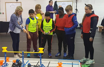 Robots to Run Riot at IT Carlow as College Prepares for VEX IQ Robotics Schools Competition